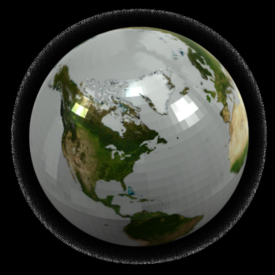 Advanced polyjet globe